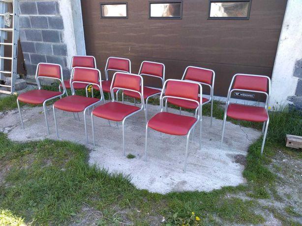 Krzesła biurowe stołówkowe recepcyjne Kinnarps okazja