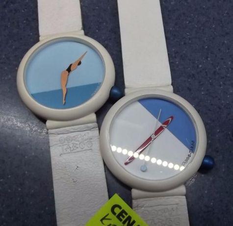 komplet 2 zegarki damskie Francuskie, zima /lato, jak swach