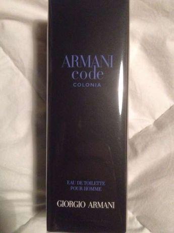 Vendo perfume Armani Code Colonia