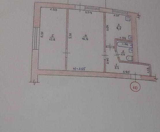 Продаю 2-х кімнатну квартиру с.Висока Піч