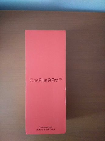 Oneplus 9 pro na caixa