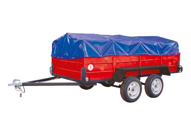 Купить прицеп двухосный категория В 750 кг цена с НДС