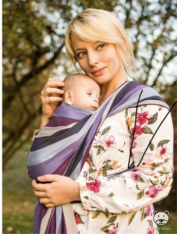 Chusta do noszenia dzieci niemowląt