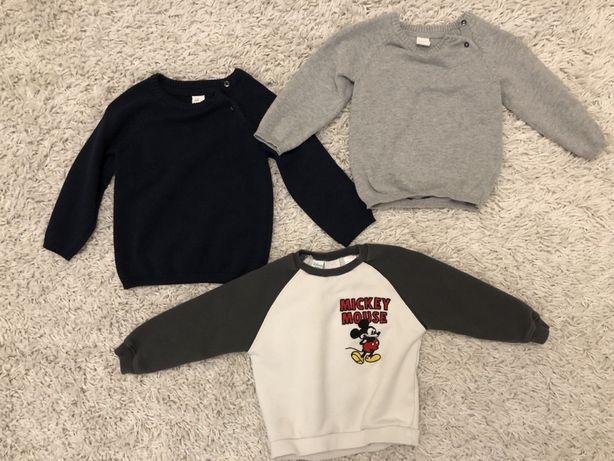 Bluzy dla chłopca 92 18-24 m