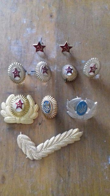 Значки кокарды раритет монеты