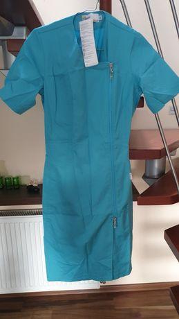 Mundurek fartuch dla pielęgniarki , kosmetyczki
