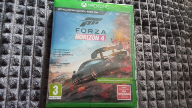 Forza Horizon 4 Xbox One / Series S X PL NOWA folia