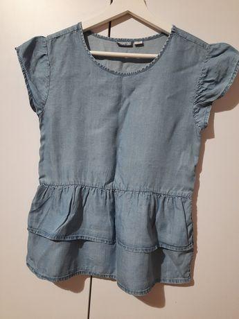 Bluzeczka jeansowa 140