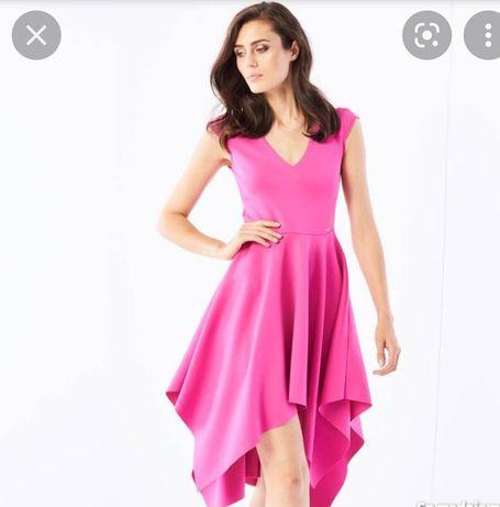 Sukienka asymetryczna Mohito r. XS
