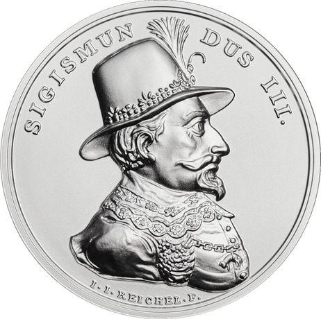 50 zł ZYGMUNT III WAZA 2020 Moneta Srebrna Skarby Stanisława Augusta