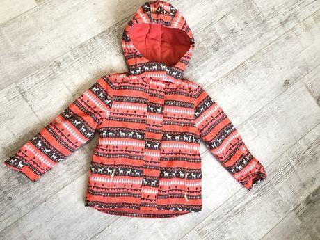 Зимняя термокуртка для девочки Topolino 116(+6)