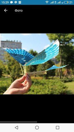 Летающая птица на резинке,орнитоптер оптом