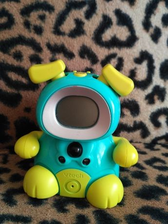Интерактивная игрушка щенок часы vtech kidimini