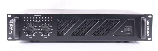 Wzmacniacz 2x 600W Ibiza AMP800-MKII