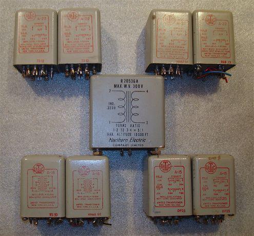 Легендарные раритетные трансформаторы UTC A-15, A-18,A-22, USA