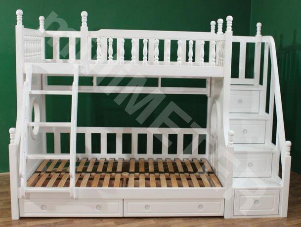 двухъярусная кровать Лия, кровать двухуровневая, ліжко двоповерхове