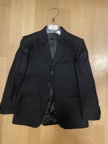 Пиджак классический для мальчика Malip! Черный, шерсть! Оригинал!