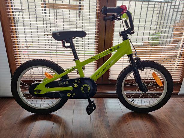 Markowy rower dla dziecka Merida M-Bike Kid 16 zielony. Stan idealny.