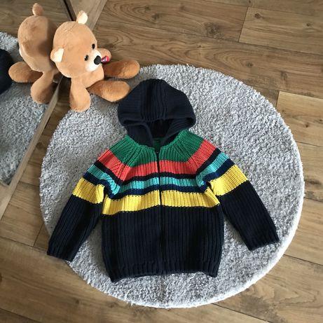Стильный вязаный кардиган свитер Next на мальчика 1,5-2 года