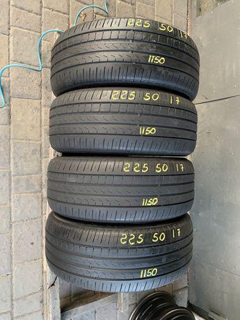 Шини резина 225/50r17 Pirelli 5mm 4шт. Лето летние