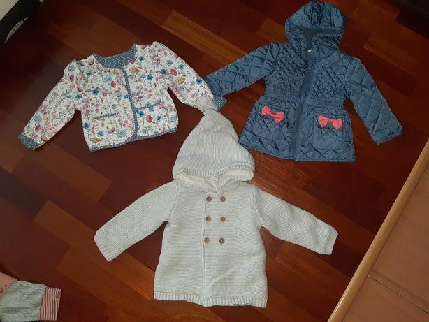 Next bluza kurtka sweter swetr jesienna wiosenna dwustronna r. 74 80