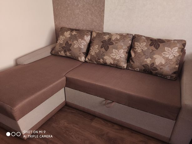 Кутовий розкладний диван