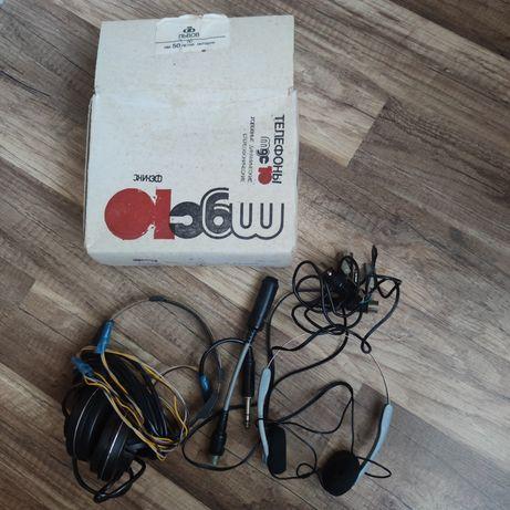 Телефоны головные динамические стереофонические  Фэникс     СССР