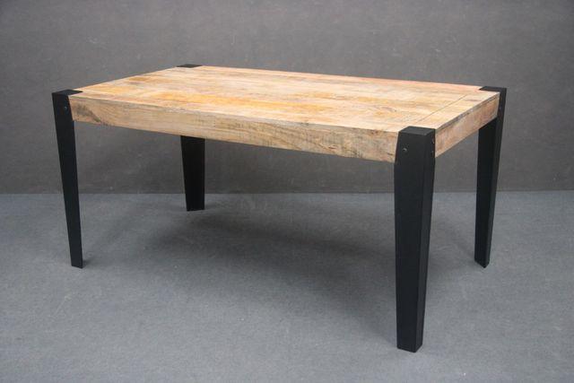 Stół Drewniany VINTAGE Metal MANGO LOFT 160 cm