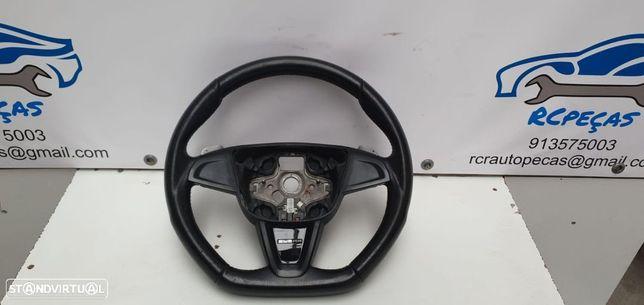 Volante Seat Ibiza 6j Cupra com patilhas sem airbag