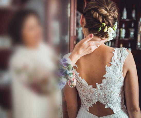 Suknia ślubna boho, Nessa