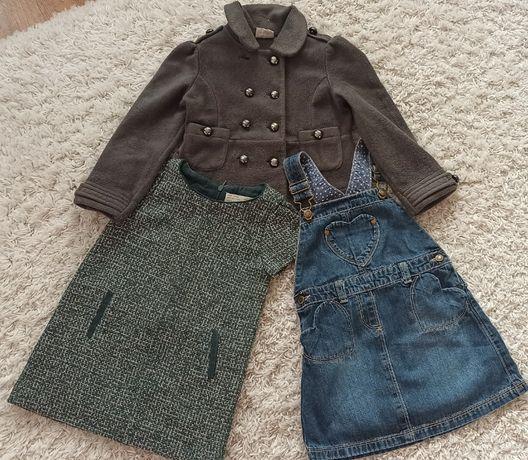 Пакет комплект фирменной одежды для девочки 3-4 года