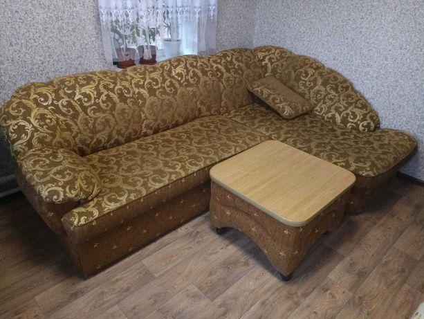 Диван+Кресло+Пуфик+Столик
