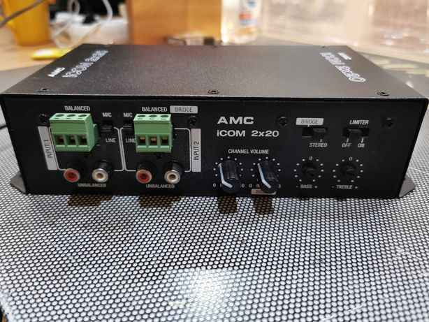AMC iCOM 2x20 wzmacniacz instalacyjny 2x20W/4Ohm