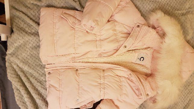 kombinezon, kurtka, płaszczyk dla dziewczynki