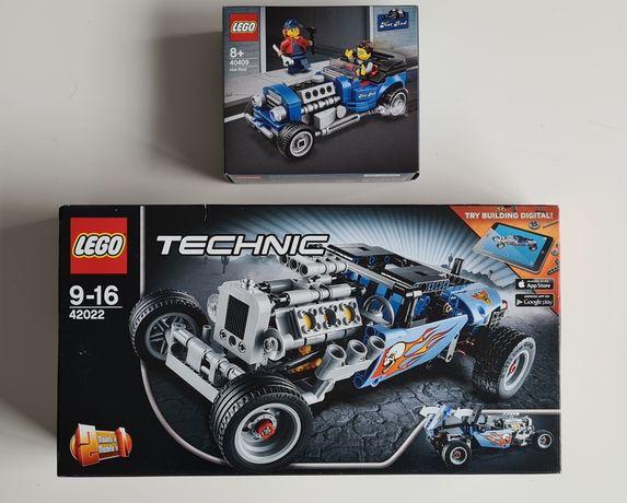 Lego Technic 42022 Hot Rod e OFERTA da Limited Special pack 40409