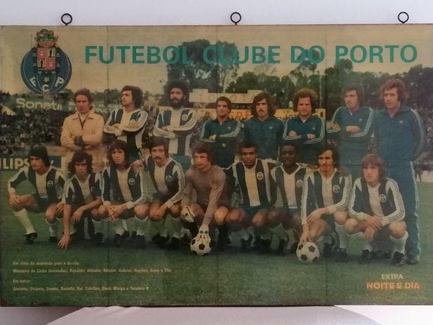 FCP - equipa de jogadores - Quadro resinado