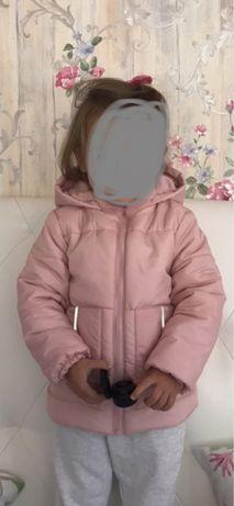 Курточка демисезонная 92-98 2-3 г.Lupilu куртка детская на девочку