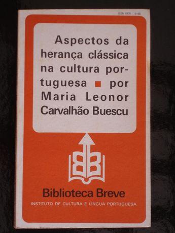 Aspectos da herança clássica na cultura portuguesa, 2.ª edição