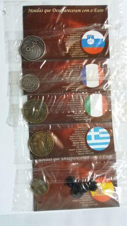 Moedas que Desapareceram com o Euro
