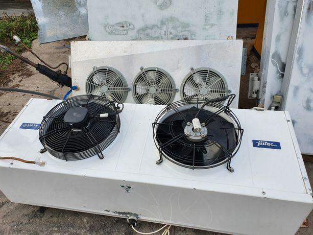 Воздухоохладители, испарители, агрегаты и т.д.