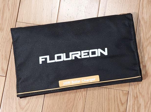 Ładowarka słoneczna 28W mocna solarna solar panel Flureon