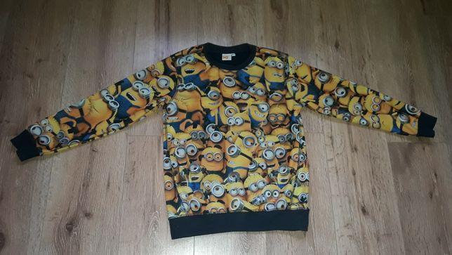 Bluza minionki dla chłopca rozmiar 140cm