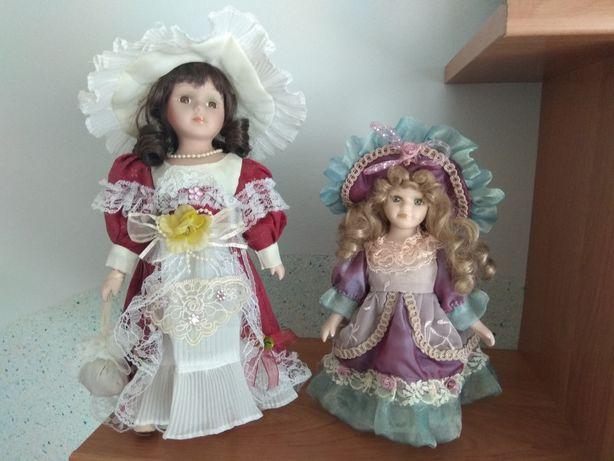 Lalka Porcelanowa Kolekcjonerska Ozdobna