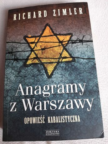 Richard Zimler Anagramy z Warszawy