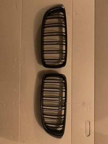 NERKI BMW f32 czarny połysk Atrapa chłodnicy