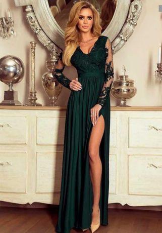 Suknia wieczorowa.