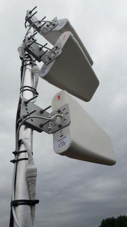 Montaż anten do Internetu LTE-4G, Plus,Play,T-mobile ,Orange Wrocław