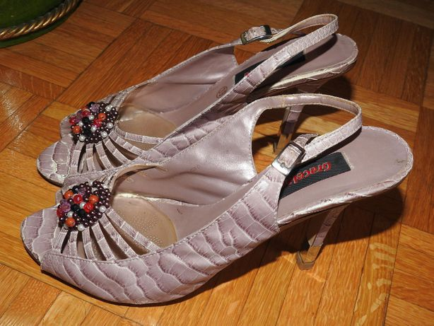 Sandałki na obcasie Graceland r. 39