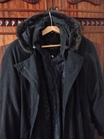 Новое пальто на подкладке с замком