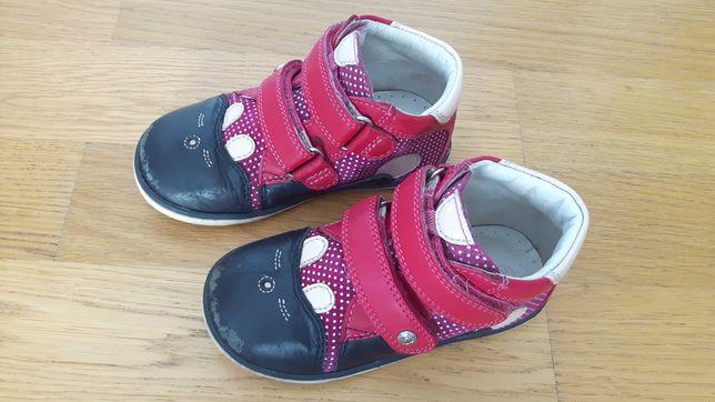 Bartek buty trzewiki jesień skórzane r.24 dziewczynka